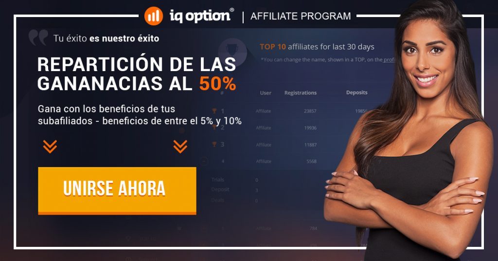 Afiliados IQ Option